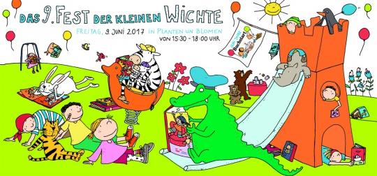 """Einladung zum """"Fest der kleinen Wichte"""" am 9. Juni 2017"""