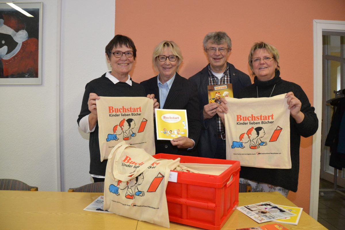 Neumünster ist neue Buchstart-Partnergemeinde